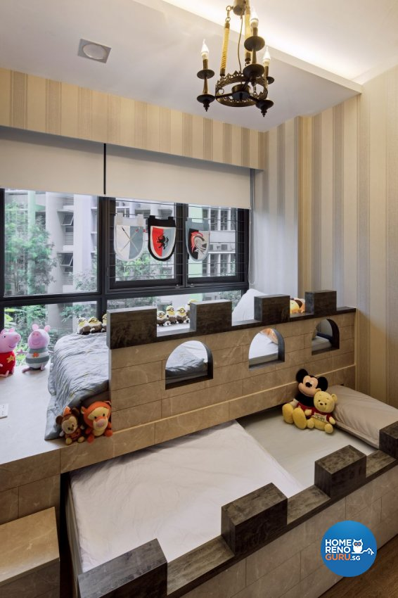 Scandinavian Design - Bedroom - Condominium - Design by Weiken.com Design Pte Ltd
