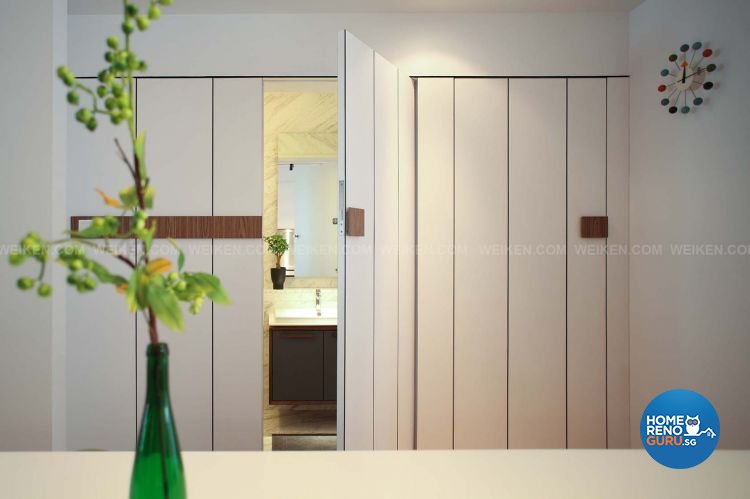 Contemporary, Minimalist, Modern Design - Bathroom - Landed House - Design by Weiken.com Design Pte Ltd
