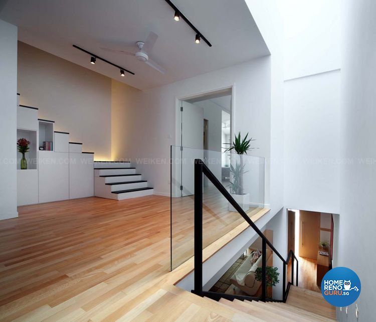 Contemporary, Minimalist, Modern Design - Living Room - Landed House - Design by Weiken.com Design Pte Ltd