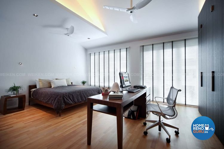Contemporary, Minimalist, Modern Design - Bedroom - Landed House - Design by Weiken.com Design Pte Ltd