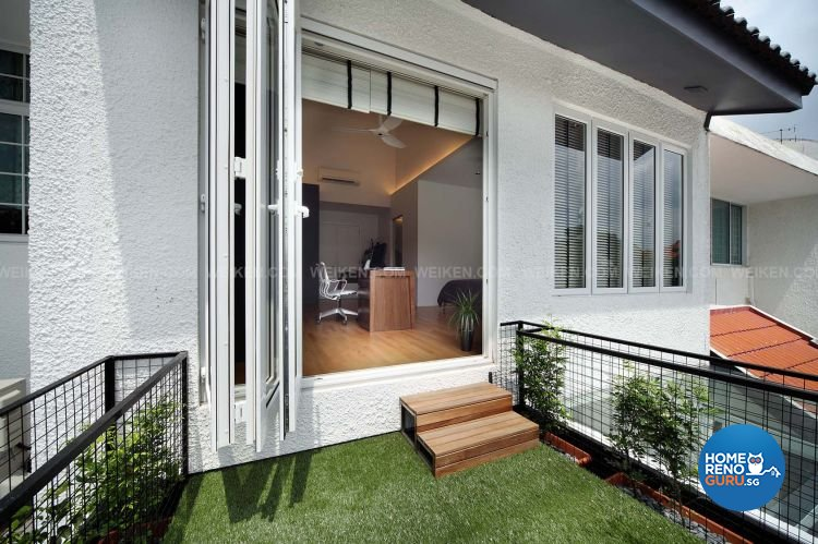Contemporary, Minimalist, Modern Design - Balcony - Landed House - Design by Weiken.com Design Pte Ltd