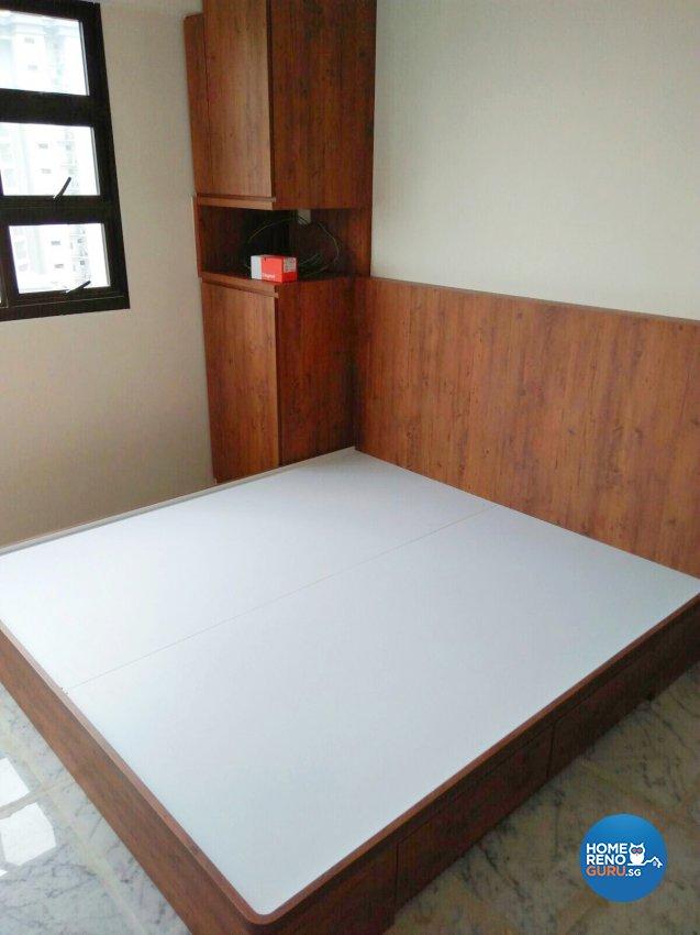 Industrial, Scandinavian Design - Bedroom - HDB 3 Room - Design by Weldas Wolfgang Pte Ltd