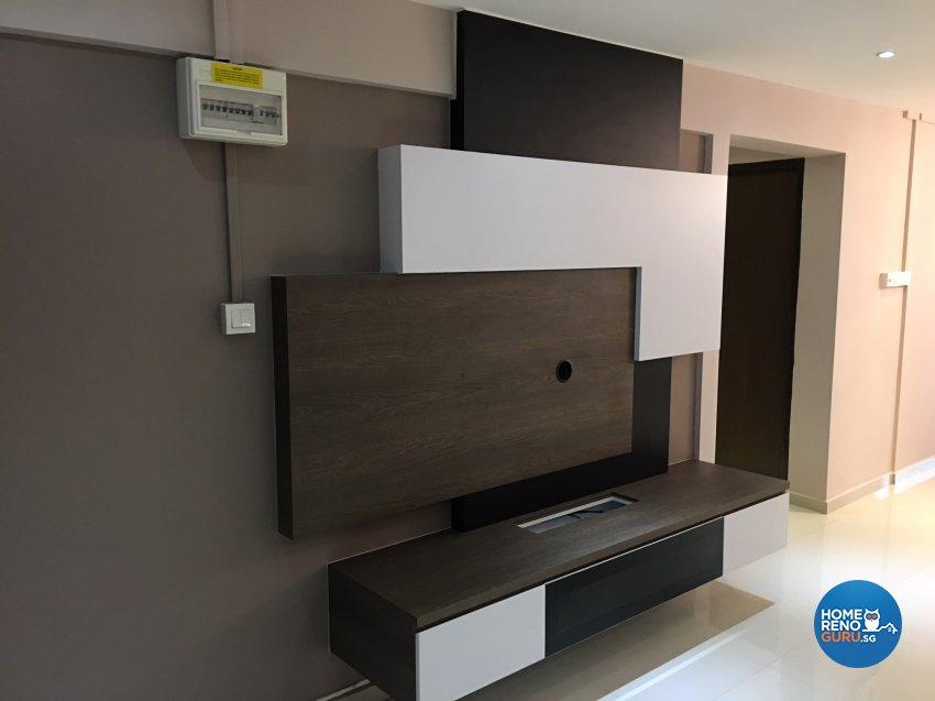 Minimalist, Modern Design - Living Room - HDB 3 Room - Design by Weldas Wolfgang Pte Ltd