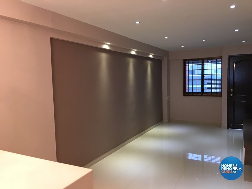 Minimalist, Modern Design - Living Room - HDB 3 Room - Design by Weldas Wolfgang Pte Ltd