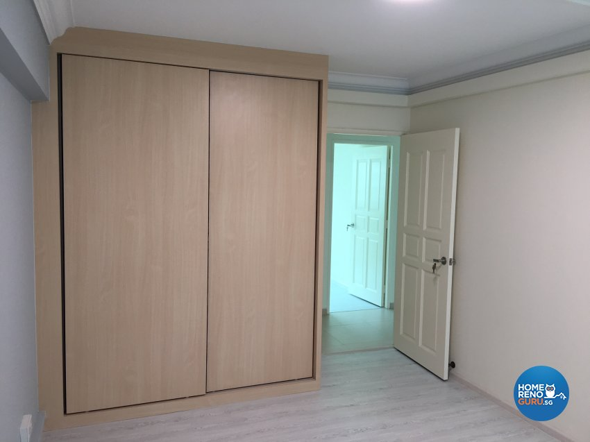 Contemporary, Minimalist, Modern Design - Bedroom - HDB 4 Room - Design by Weldas Wolfgang Pte Ltd
