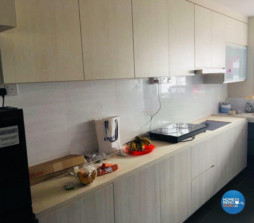 Contemporary, Modern Design - Kitchen - HDB 5 Room - Design by Weldas Wolfgang Pte Ltd