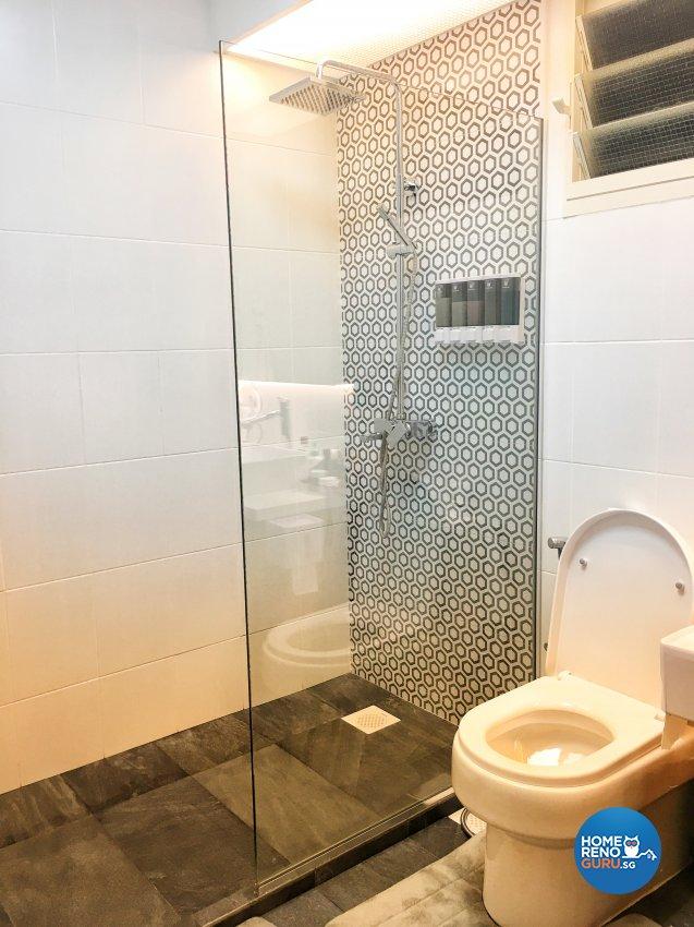 Contemporary, Modern Design - Bathroom - HDB 4 Room - Design by Weldas Wolfgang Pte Ltd