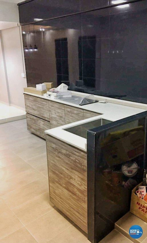Modern, Scandinavian Design - Kitchen - HDB 3 Room - Design by Weldas Wolfgang Pte Ltd