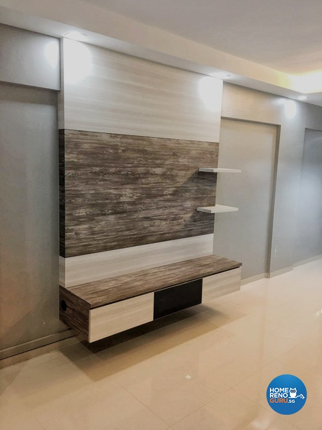 Modern, Scandinavian Design - Living Room - HDB 3 Room - Design by Weldas Wolfgang Pte Ltd