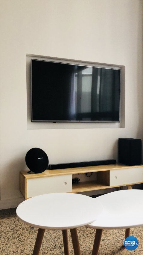 Modern Design - Living Room - Condominium - Design by Weldas Wolfgang Pte Ltd