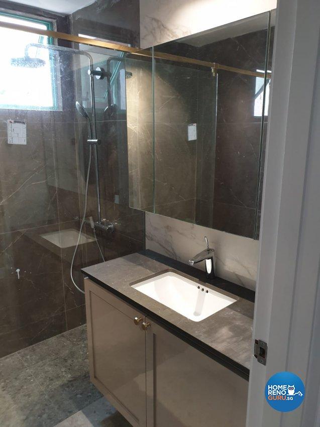 Contemporary, Minimalist, Modern Design - Bathroom - Condominium - Design by Weldas Wolfgang Pte Ltd