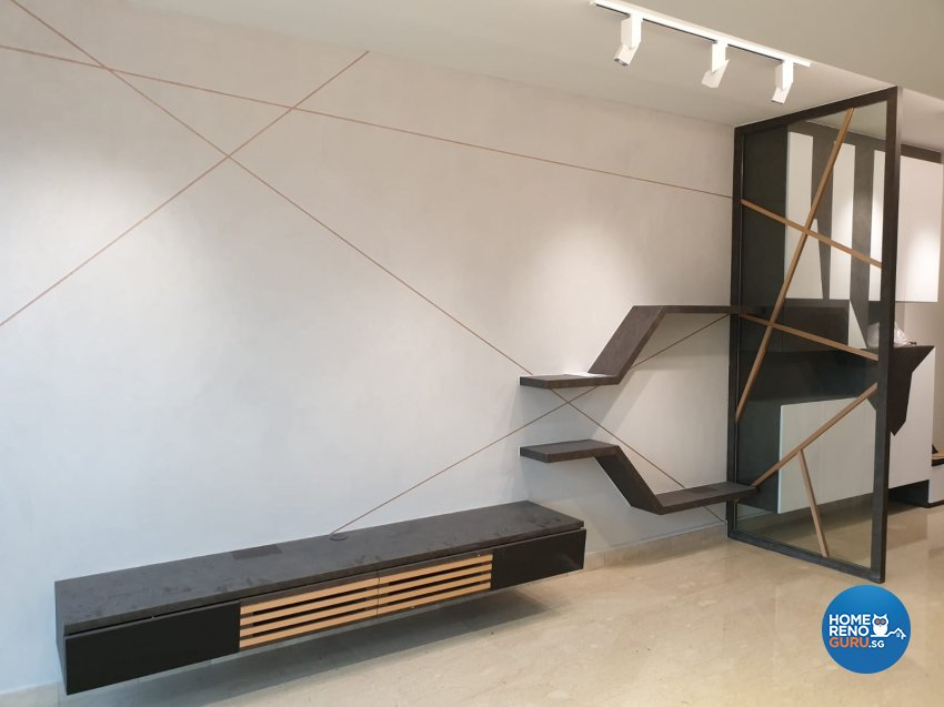 Contemporary, Minimalist, Modern Design - Living Room - Condominium - Design by Weldas Wolfgang Pte Ltd