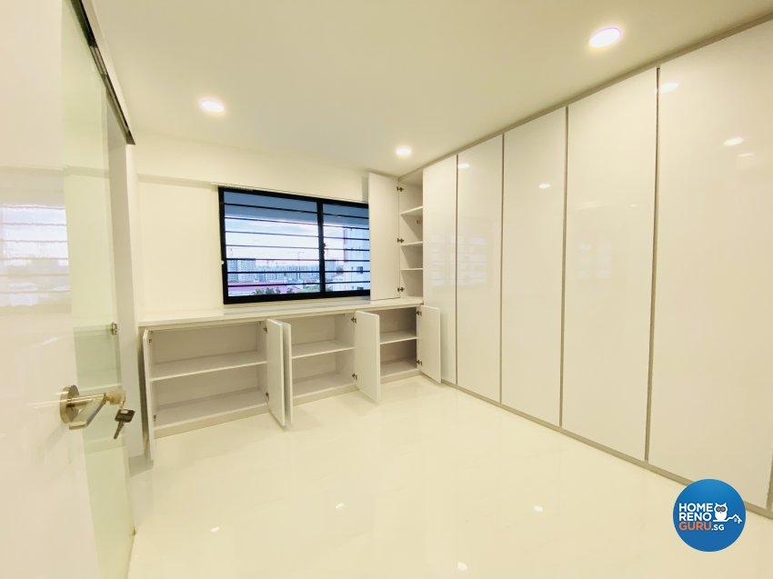 Contemporary, Minimalist, Modern Design - Bedroom - HDB Executive Apartment - Design by Weldas Wolfgang Pte Ltd