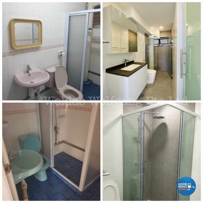 Contemporary, Minimalist, Modern Design - Bathroom - HDB Executive Apartment - Design by Weldas Wolfgang Pte Ltd