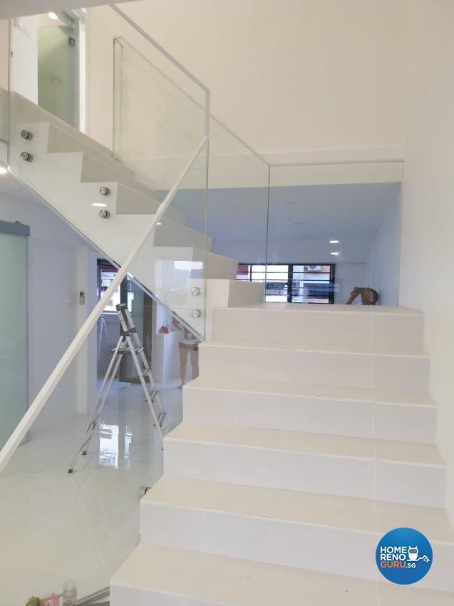 Contemporary, Minimalist, Modern Design - Living Room - HDB Executive Apartment - Design by Weldas Wolfgang Pte Ltd