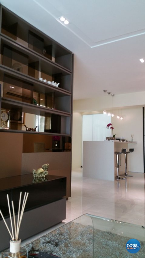 Classical, Contemporary Design - Living Room - HDB 5 Room - Design by White Silver Pte Ltd