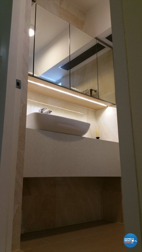 Classical, Contemporary Design - Bathroom - HDB 5 Room - Design by White Silver Pte Ltd