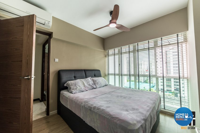Contemporary, Industrial, Modern Design - Bedroom - HDB 5 Room - Design by WHST Design