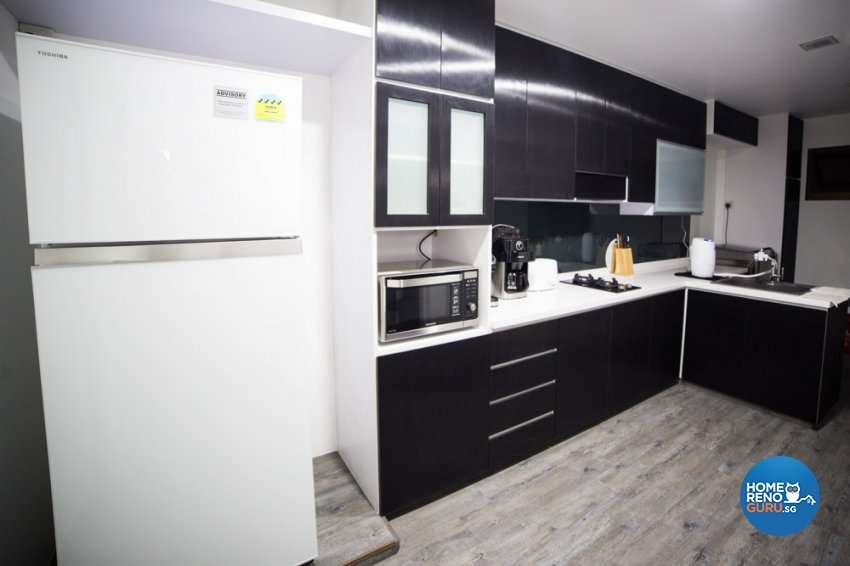Contemporary, Minimalist, Modern Design - Kitchen - HDB 4 Room - Design by WHST Design