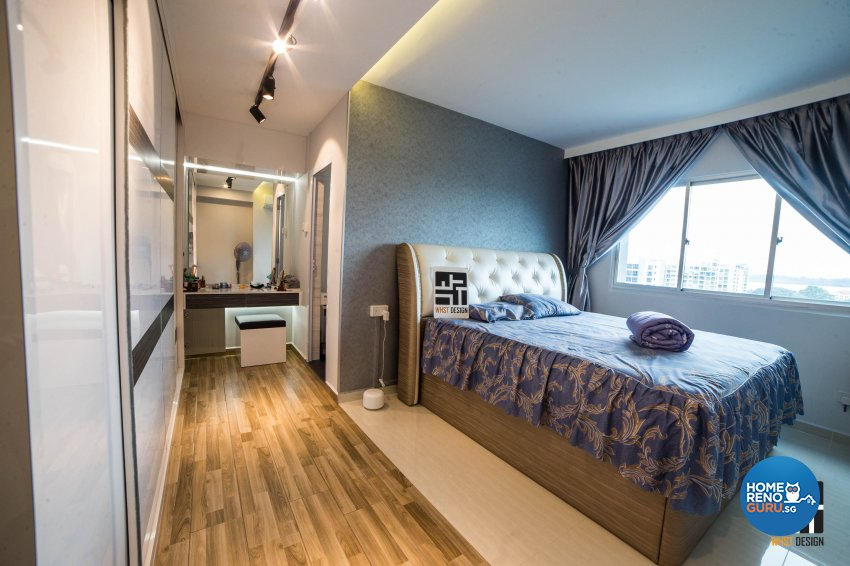 Classical, Contemporary, Modern Design - Bedroom - HDB 3 Room - Design by WHST Design