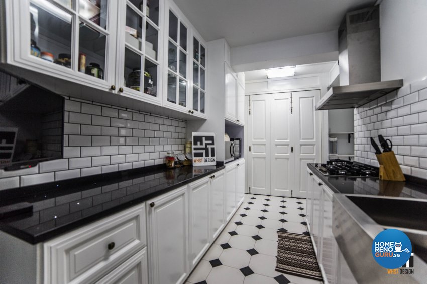 Minimalist, Victorian, Vintage Design - Kitchen - HDB 4 Room - Design by WHST Design