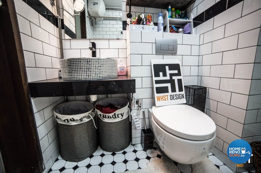 Minimalist, Victorian, Vintage Design - Bathroom - HDB 4 Room - Design by WHST Design