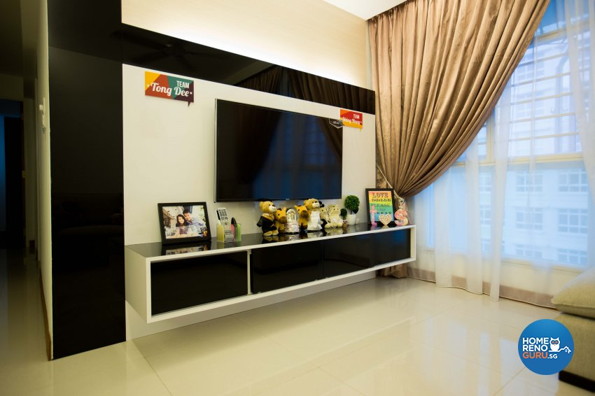 Classical, Contemporary, Modern Design - Living Room - HDB 4 Room - Design by WHST Design