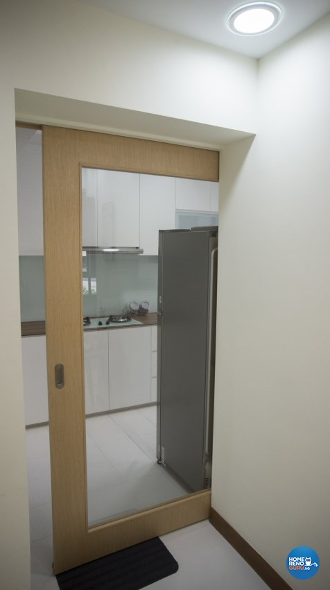 Minimalist, Modern, Resort Design - Kitchen - HDB 5 Room - Design by WHST Design