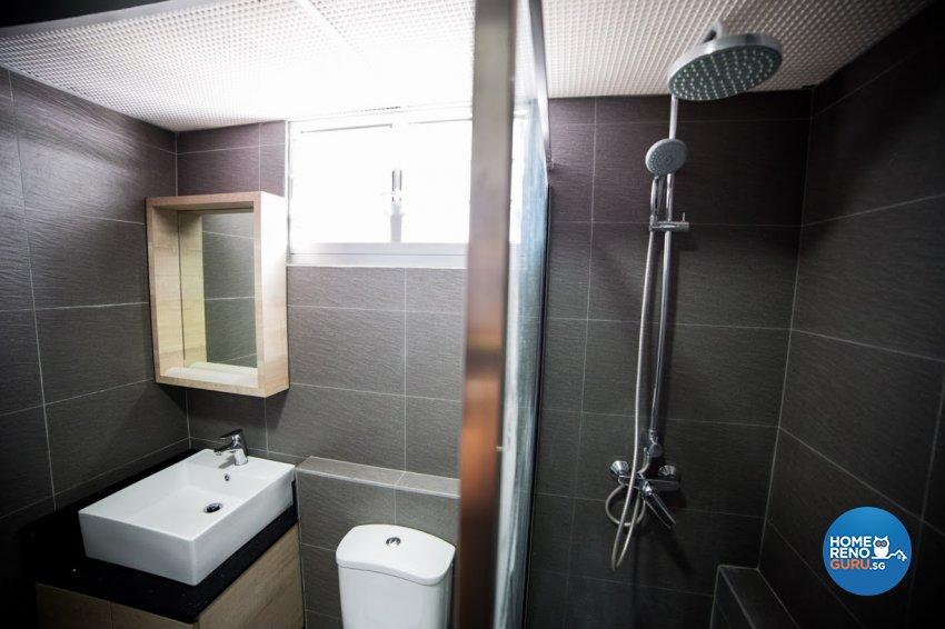 Industrial, Rustic, Scandinavian Design - Bathroom - HDB 4 Room - Design by WHST Design