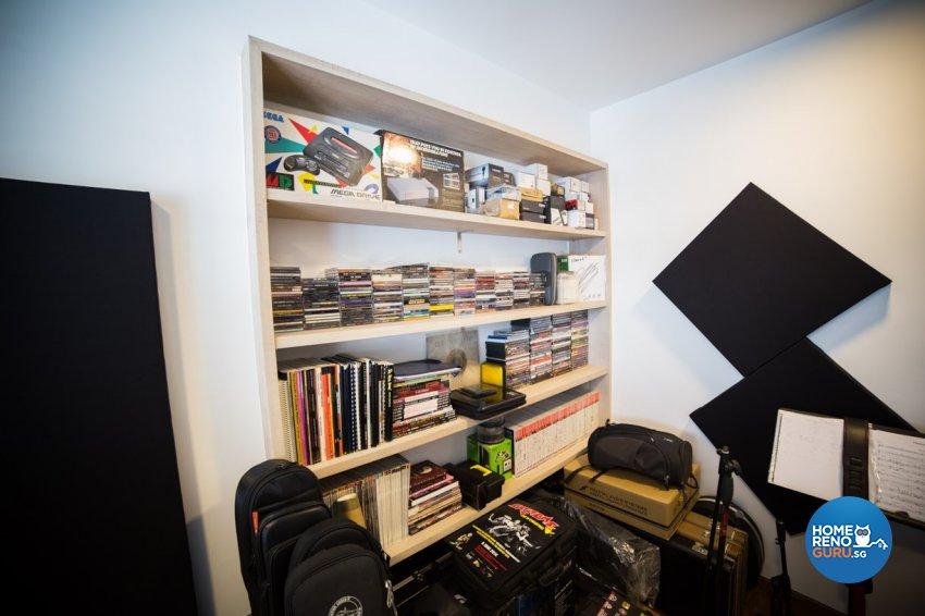 Industrial, Rustic, Scandinavian Design - Study Room - HDB 4 Room - Design by WHST Design