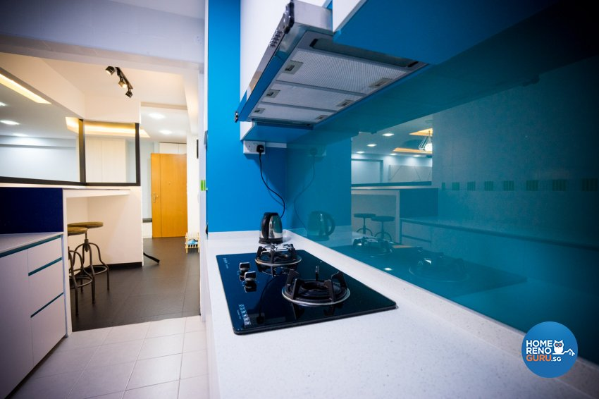 Industrial, Modern, Scandinavian Design - Kitchen - HDB 5 Room - Design by WHST Design
