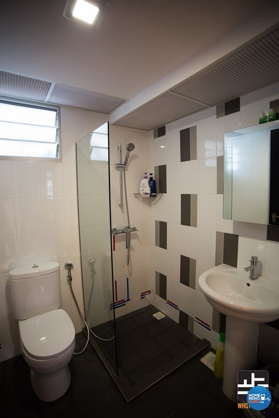 Contemporary, Minimalist, Modern Design - Bathroom - HDB 4 Room - Design by WHST Design