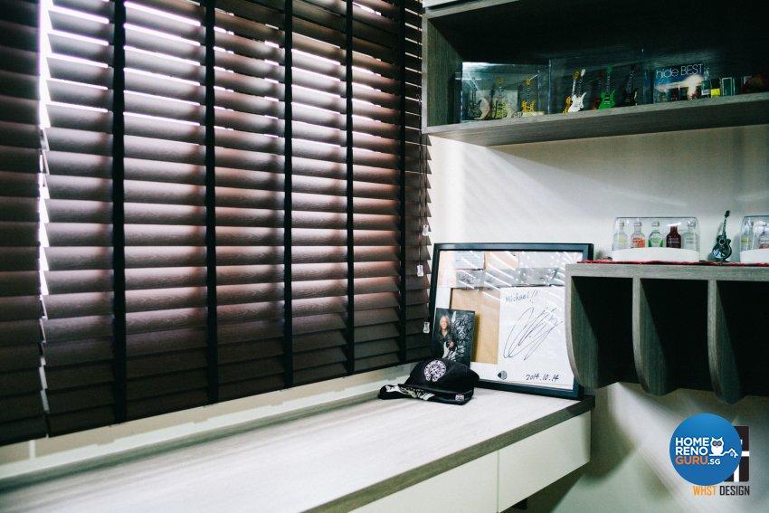 Contemporary, Minimalist, Modern Design - Study Room - HDB 4 Room - Design by WHST Design