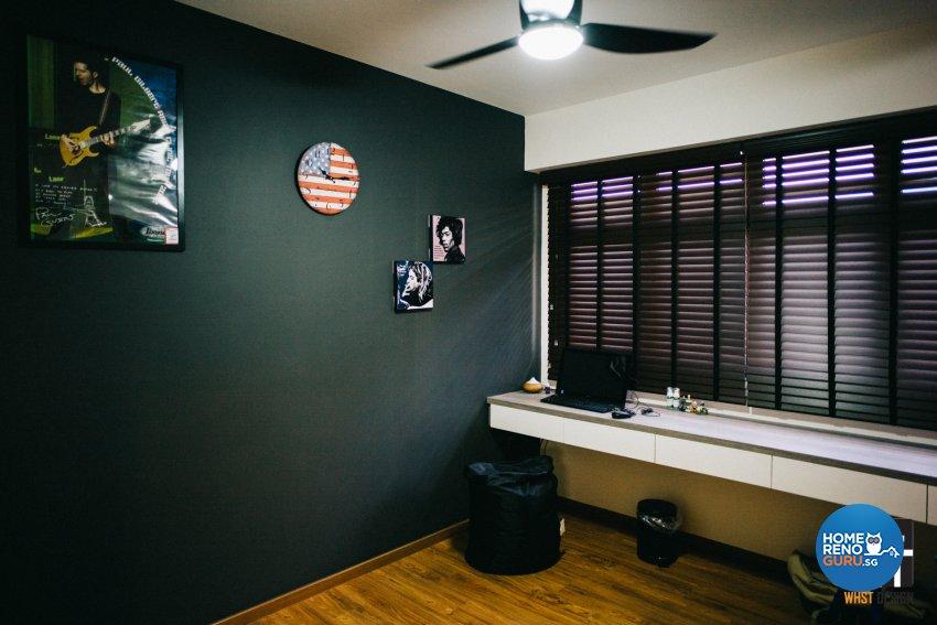 Contemporary, Minimalist, Modern Design - Bedroom - HDB 4 Room - Design by WHST Design
