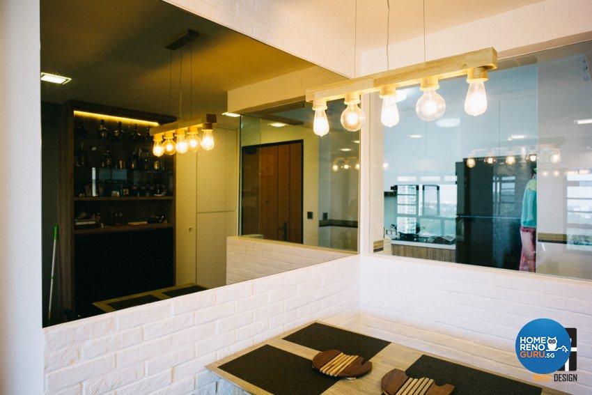 Contemporary, Minimalist, Modern Design - Dining Room - HDB 4 Room - Design by WHST Design