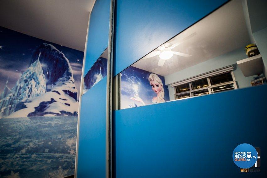 Industrial, Modern, Scandinavian Design - Bedroom - HDB 5 Room - Design by WHST Design