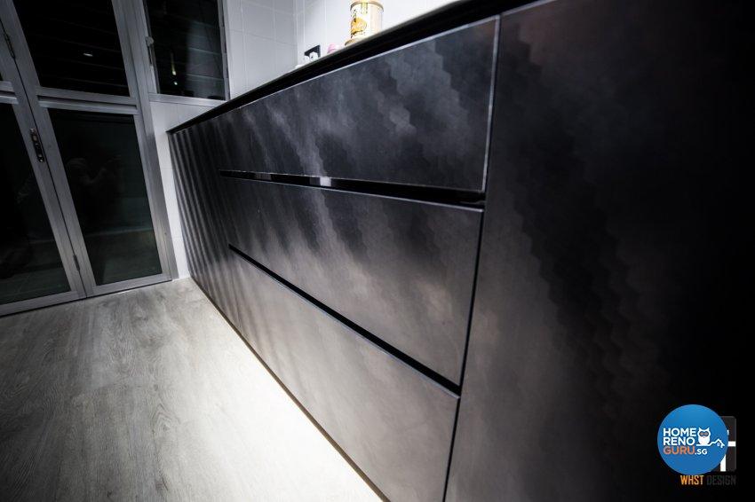Industrial, Modern, Scandinavian Design - Kitchen - HDB 5 Room - Design by WHST Design