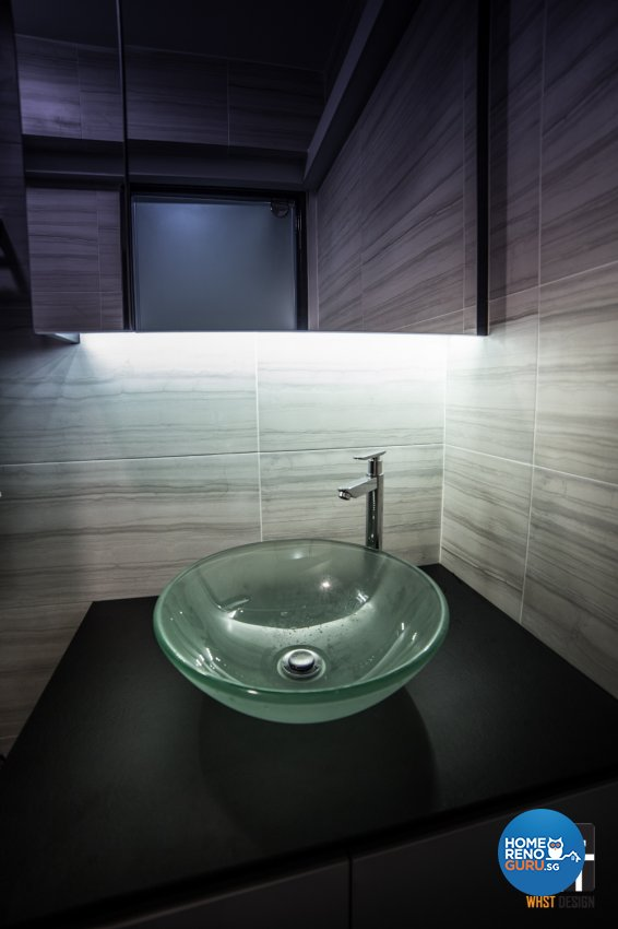 Industrial, Modern, Scandinavian Design - Bathroom - HDB 5 Room - Design by WHST Design