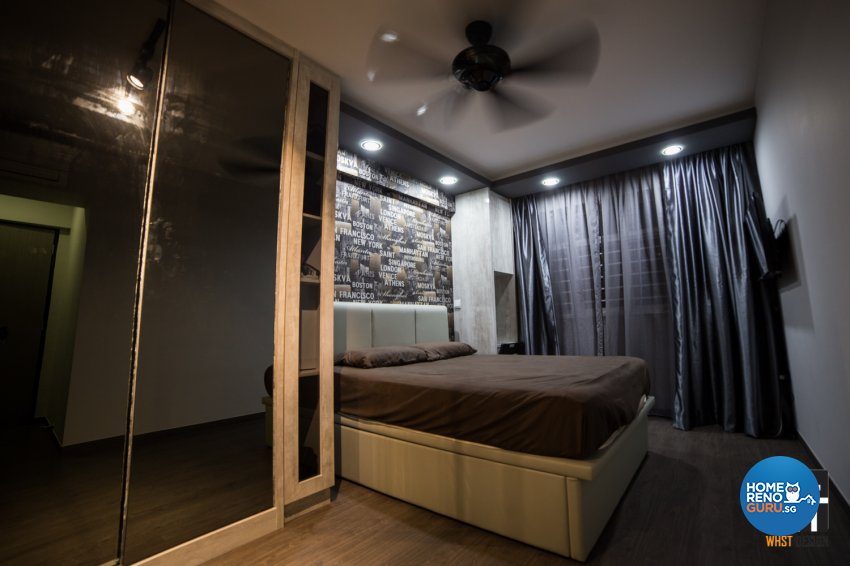 Industrial, Modern, Scandinavian Design - Bedroom - HDB 5 Room - Design by WHST Design