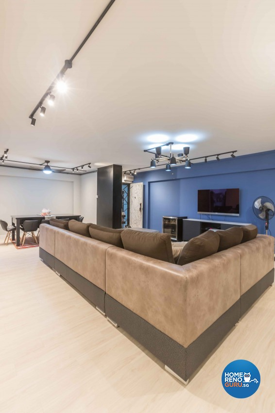 Scandinavian, Victorian Design - Living Room - HDB 5 Room - Design by WHST Design
