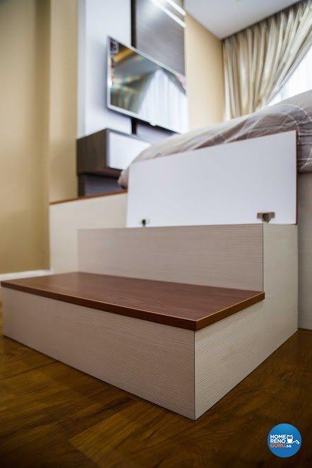 Contemporary, Minimalist, Modern Design - Bedroom - Condominium - Design by WHST Design