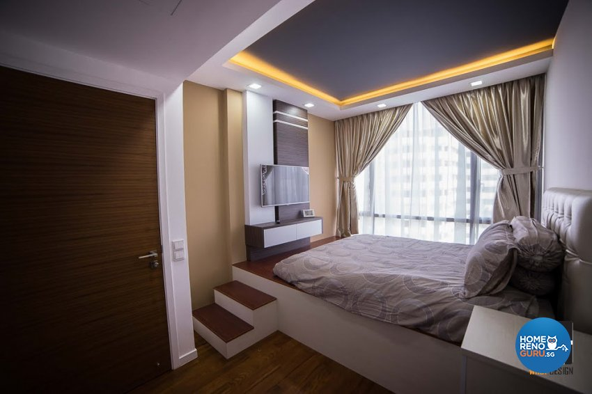 Contemporary, Minimalist, Modern Design - Bedroom - Condominium - Design by WHST Design