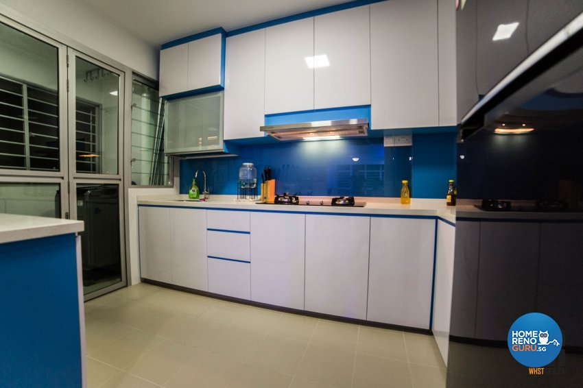 Classical, Contemporary, Modern Design - Kitchen - HDB 3 Room - Design by WHST Design