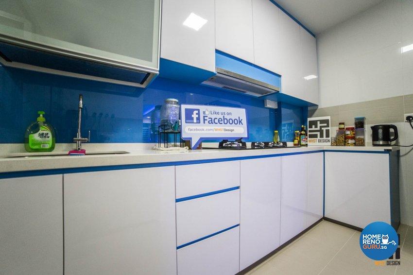 Classical, Contemporary, Modern Design - Kitchen - HDB 3 Room - Design by WHST Design