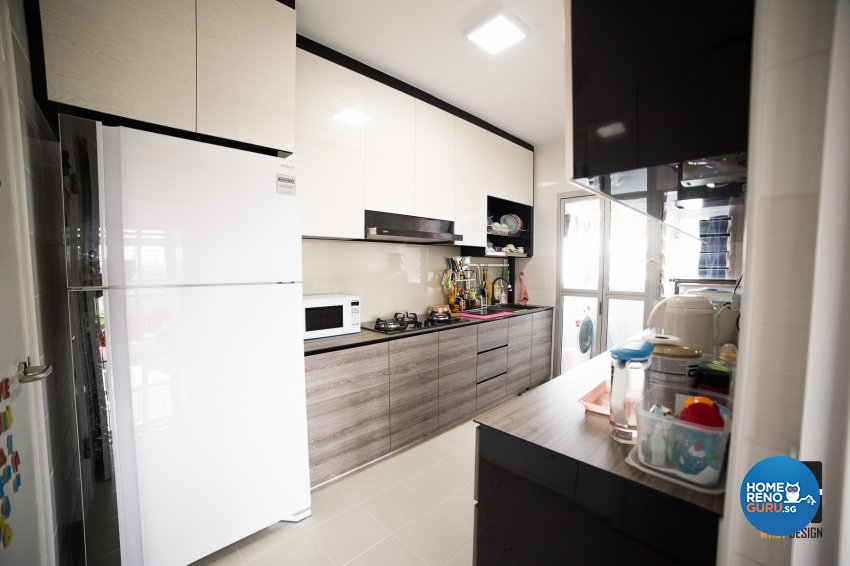 Classical, Contemporary, Modern Design - Kitchen - HDB 4 Room - Design by WHST Design