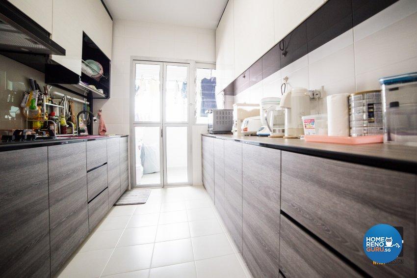 Classical, Contemporary, Modern Design - Kitchen - HDB 4 Room - Design by WHST Design