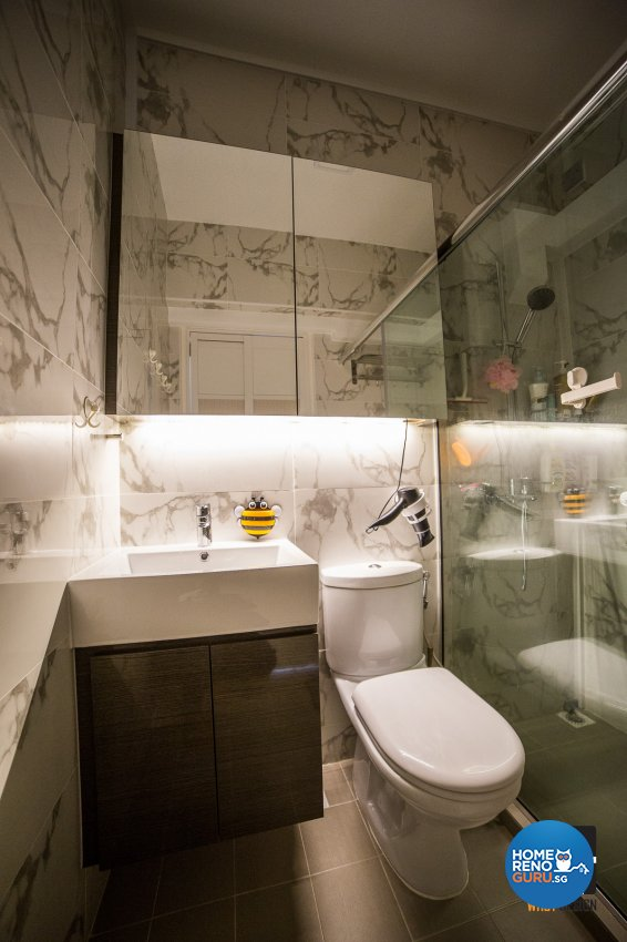 Classical, Contemporary, Modern Design - Bathroom - HDB 4 Room - Design by WHST Design