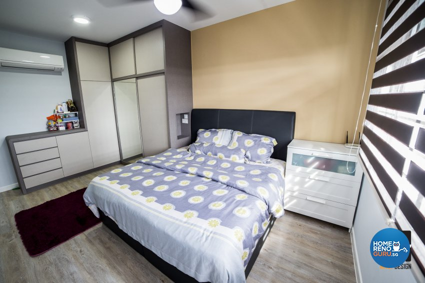 Classical, Contemporary, Modern Design - Bedroom - HDB 4 Room - Design by WHST Design