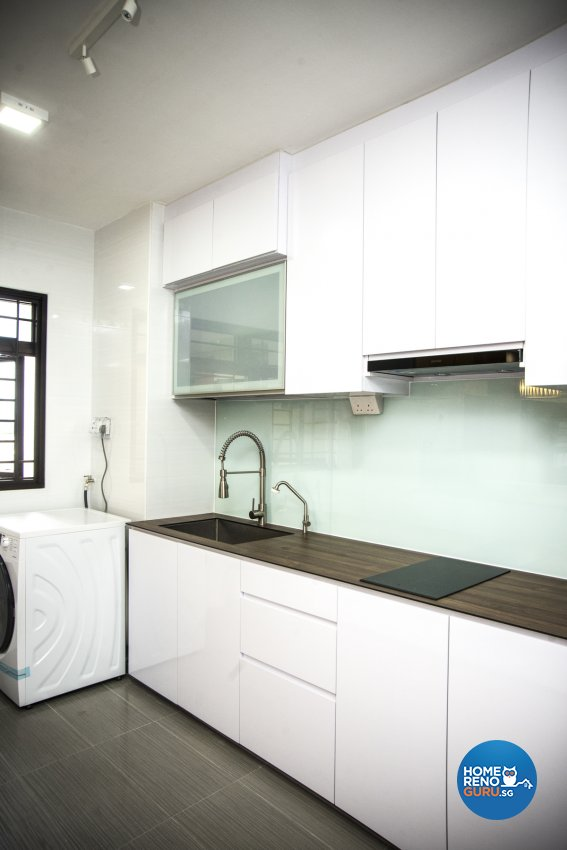 Classical, Modern, Resort Design - Kitchen - HDB 3 Room - Design by WHST Design