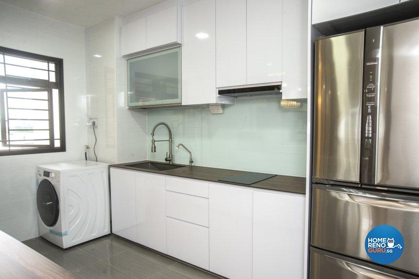 Classical, Modern, Resort Design - Kitchen - HDB 3 Room - Design by WHST Design